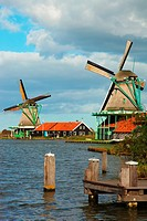Ancient windmills and channels