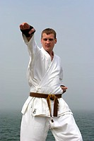 karate on the shores of the misty sea