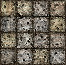 seamless texture of abstract dirty square stones