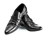 black male shoes with buckles