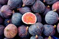 Tasty organic figs at local market