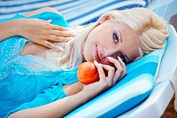 Beautiful girl at beach