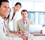 Multi_ethnic business team in a meeting