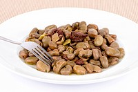 Portuguese broad beans.