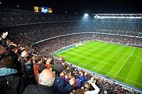 Camp Nou, Barcelona FC football team, Barcelona, Catalonia, Spain