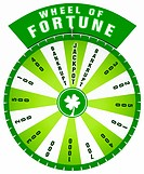 3D Wheel of Fortune _ Isolated