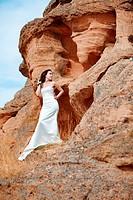 girl on the mountain