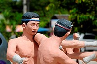 model of Thai Boxing Muay Thai