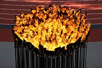 Thomas Heatherwick was the mastermind behind one of the best_kept secrets of the Opening Ceremony _ the cauldron. Featuring 204