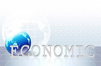 word economic _ business concept