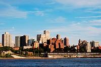 Downtown Brooklyn skyline in New York City