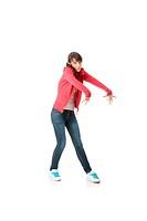 Young pop dancer