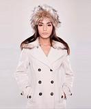 woman in winter wear