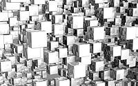 Mega cubes background silver 03