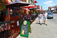 Bayward Market Shopping District downtown Ottawa Ontario Canada National Capital City