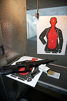 beretta cx4 storm 9mm semi automatic rifle at a gun range in florida usa