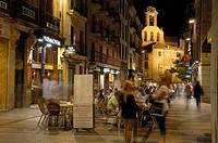 Salamanca, Rua Mayor street, Via de la Plata, Calle de la Rua Mayor, Castilla-Leon, Spain.