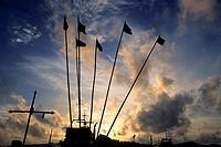 Sunrise, Phoenix Bay Jetty, Port Blair, Andaman, India