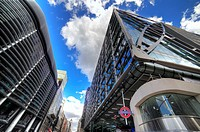 Cannon Place Office development and entrance to Cannon Street Station, London, UK