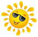Sun theme image 5 _ picture illustration.