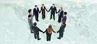Global business leaders cooperate to further mutual objectives