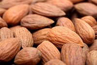 almond close_up background