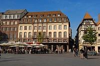 Strasbourg, Kleber square, UNESCO world heritage site, Place Kleber, Alsace, Bas Rhin, France, Europe.