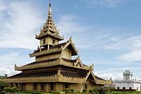 The Palace Shwebonyadanar Mingalar Nangdaw  Shwebo city  Sagaing Division  Burma  Republic of the Union of Myanmar.