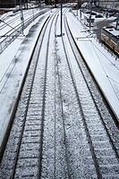 Railroad lines, Mikkeli Finland
