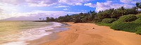 Beach at sunset near Makena Route 31, Maui, Hawaii