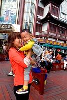 China, Shanghai, Huangpu District, Yuyuan Garden, Fuyou Road, shopping, market, marketplace, Mandarin symbols, hanzi, Golden Palace Jewelry Wholesale ...