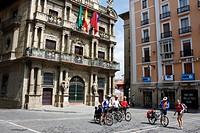 Town Hall, Pamplona, Navarra Navarre, Spain