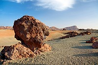 Deset landscape of El Teide volcano, Tenerife Island, Canary.