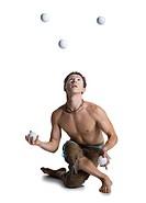 Circus juggler