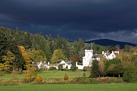 Blair Atholl Castle, Blair Atholl, Perthshire, Scotland, United Kingdom, Europe