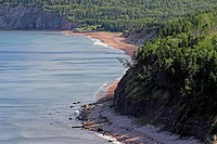 Coastline, Cabot Trail, Cape Breton, Nova Scotia, Canada