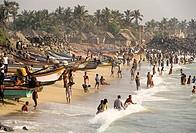 Vaithi Beach,Bay of Bengal,Coromandel Coast, Pondicherry,Puducherry,Union Territory of India
