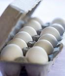 Close_up of eggs in an egg carton