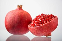 Pomegranate and a half.