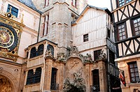 Normandy, Le Gros Horloge, the symbol of Rouen