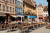 La Place de la Cathedrale in Strasbourg