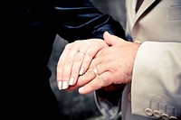 hands of the newly married