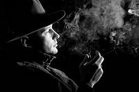 A man with cigar