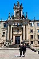 Mosteiro de San Martiño Pinario, Praza da Inmaculada, Santiago de Compostela, A Coruña province, Galicia, Spain.