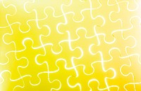 Puzzle in yellow