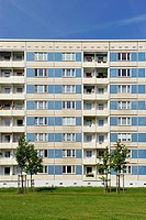 Prefabricated high_rise building, Dresden, Germany