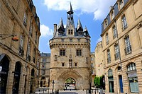 Porte Cailhau, Bordeaux, UNESCO World Heritage Site, Gironde, Aquitaine, France, Europe