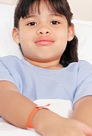 Young girl patient