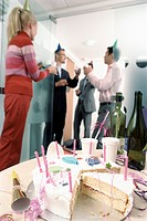 Businesspeople Having a Party