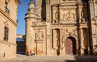 Sacra capilla del Salvador,Church of the Salvador 16th century in Plaza de Vázquez Molina, Úbeda  Jaén province  Andalusie  Spain